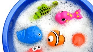 Learn Sea Animal and Zoo Animals Names Education Video Animal Toys For Kids