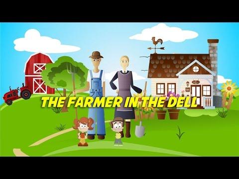 The Farmer in the Dell | Free Nursery Rhyme Karaoke with Lyrics