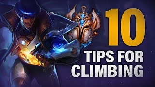10 TIPS I Wish I knew to CLIMB to CHALLENGER FASTER