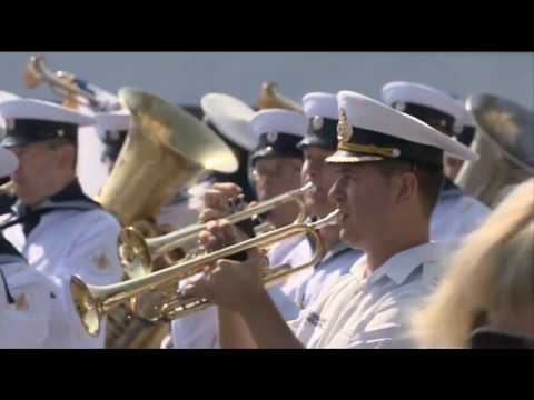 Yanukovich Hosts Putin to Celebrate Navy Day