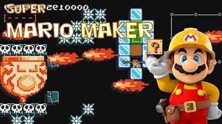 Super Mario Maker - Oh no, he's hot!