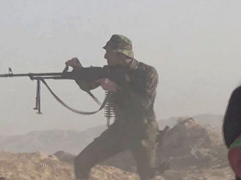 Raw: Iraq Forces Battle Militants