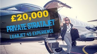 THE £20,000 PRIVATE STRATAJET EXPERIENCE ON LEARJET 45