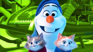 ᴴᴰ Jingel Bell Songs with Olaf Frozen Funny Momment Videos