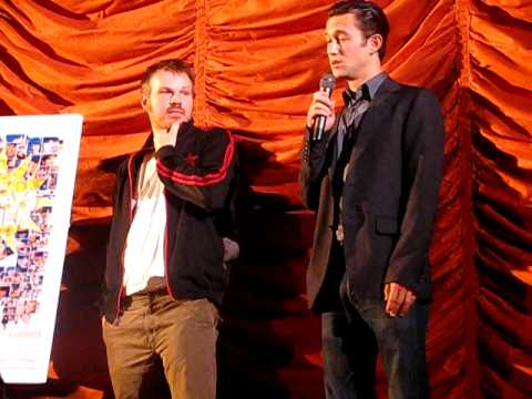 Marc Webb & Joseph Gordon-Levitt @ (500) Days Of Summer Screening 6/23/09