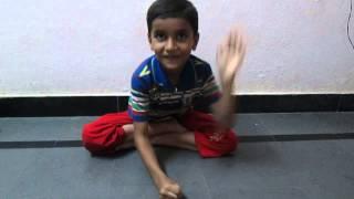 5 year kid doing chinta ta ta chita chita!!!! very funny