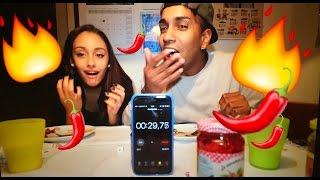 SUPER PICCANTISSIMA PEPER HOT CHALLENGE!!! |Leila&Pedro|