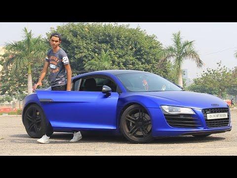 Uber Prank | Picking up Uber riders in Audi R8 | Pranks in India