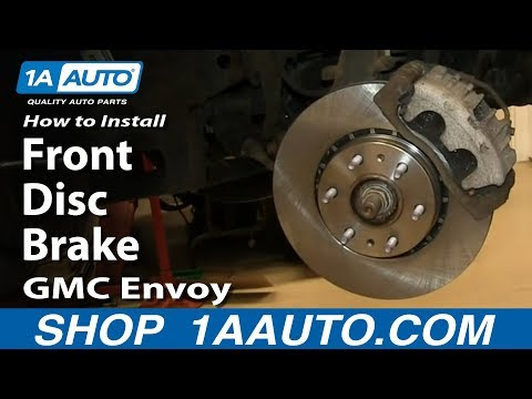 How To Install Do a Front Disc Brake Job 2002-09 GMC Envoy and XL XUV