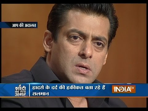 Salman Khan Revealed Why He Didn't Marry in Aap Ki Adalat
