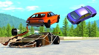 BeamNG DRIVE Random Vehicles Crash Testing Part 8