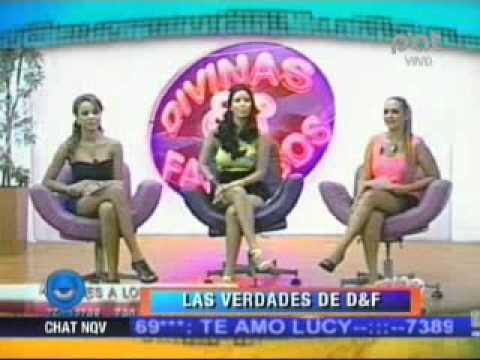 LAS VERDADES DE DIVINAS Y FAMOSAS 25-08-2011 @ NQV PAT - BOLIVIA
