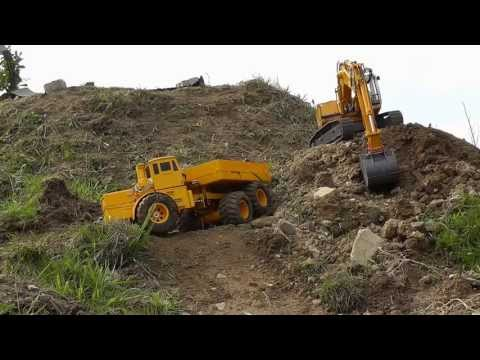 BEST OF K-700 WOKR, ACCIDENTS RC CRASH, UNFALL, MINE, WORK HEAVY MACHINES, 2013