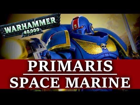 Примарис Спейс Марины и их войска (WARHAMMER 40000)