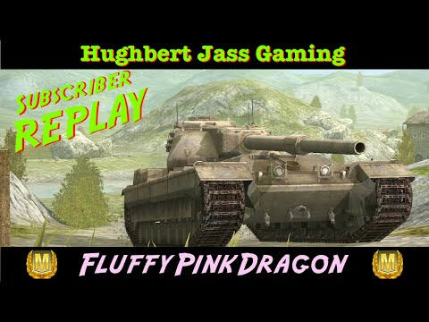 World of Tanks BLITZ - Subscriber Replay - FluffyPinkDragon - FV215b - ACE!