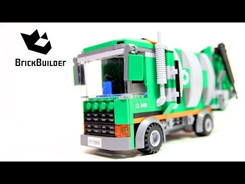 Lego Movie 70805 Garbage truck Complete build. unboxing and review