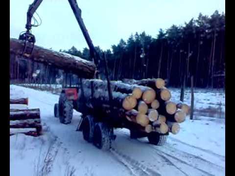 Przyczepa leśna palms 510