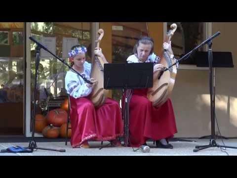 Bandura Concert at Sacramento Waldorf School by Ola Oliynyk and Eliza Hagy - 10/20/2014