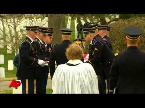 Raw Video: Last American WWI Veteran Buried