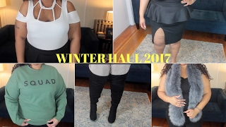 Collective Winter Haul 2017 | Shein, Boohoo, Forever 21, Rainbow