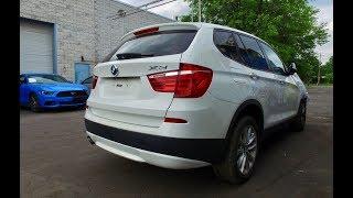 2013 BMW X3 - упаковали и отправляем в Украину.