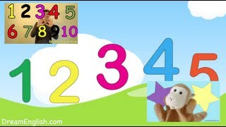 Kids Numbers Song Collection | 5 Songs | Dream English Kids with Matt