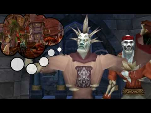 Associate Professor Evil Kills All Ninja Looters - World of Warcraft (WoW) Machinima by Oxhorn