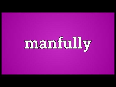 Header of manfully