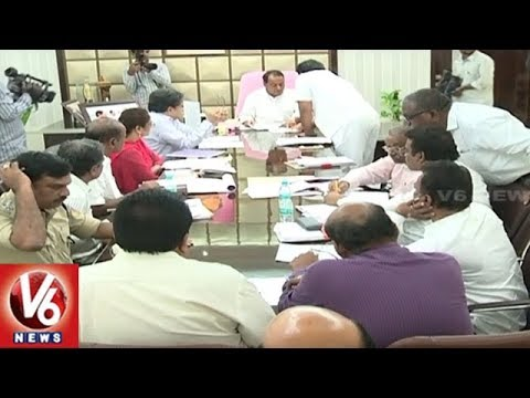Minister Indrakaran Reddy Review Meet With Officers On Bhima Pushkaralu | V6 News