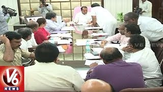 Minister Indrakaran Reddy Review Meet With Officers On Bhima Pushkaralu