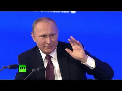 Путин о Керченском мосте: Я придумал его строить, а вы придумали, как его назвать