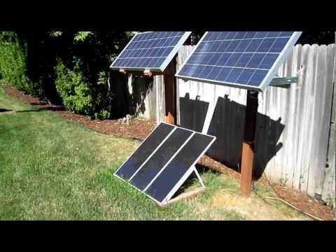 Simple Solar Panel Setup 2