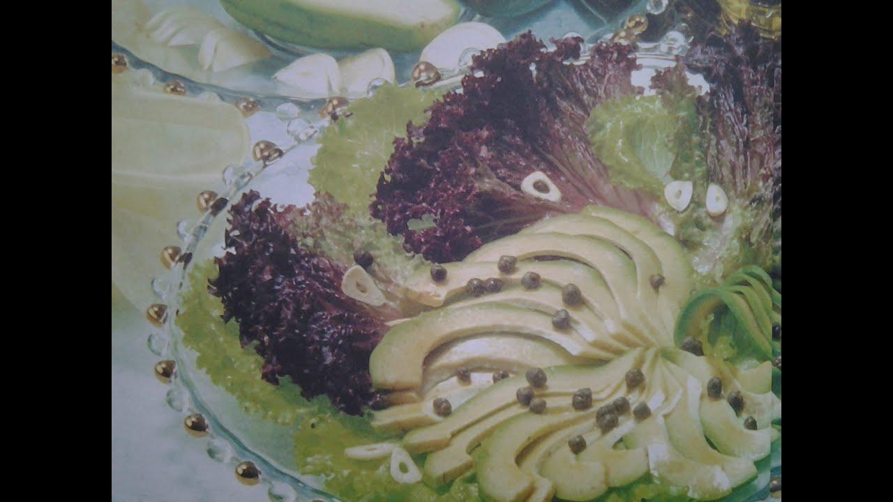Как сделать листья салата вкусными