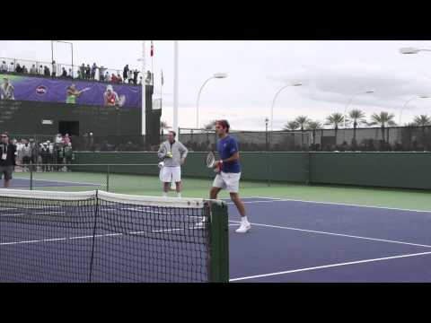 Federer Forehand Volley Analysis