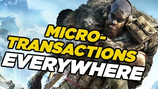 "Ubisoft Remove Ghost Recon Breakpoint Microtransactions ""For Now"" Amid Backlash"