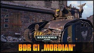 World of Tanks - Live: BDR G1 mit Mordian WH40k Skin [ deutsch