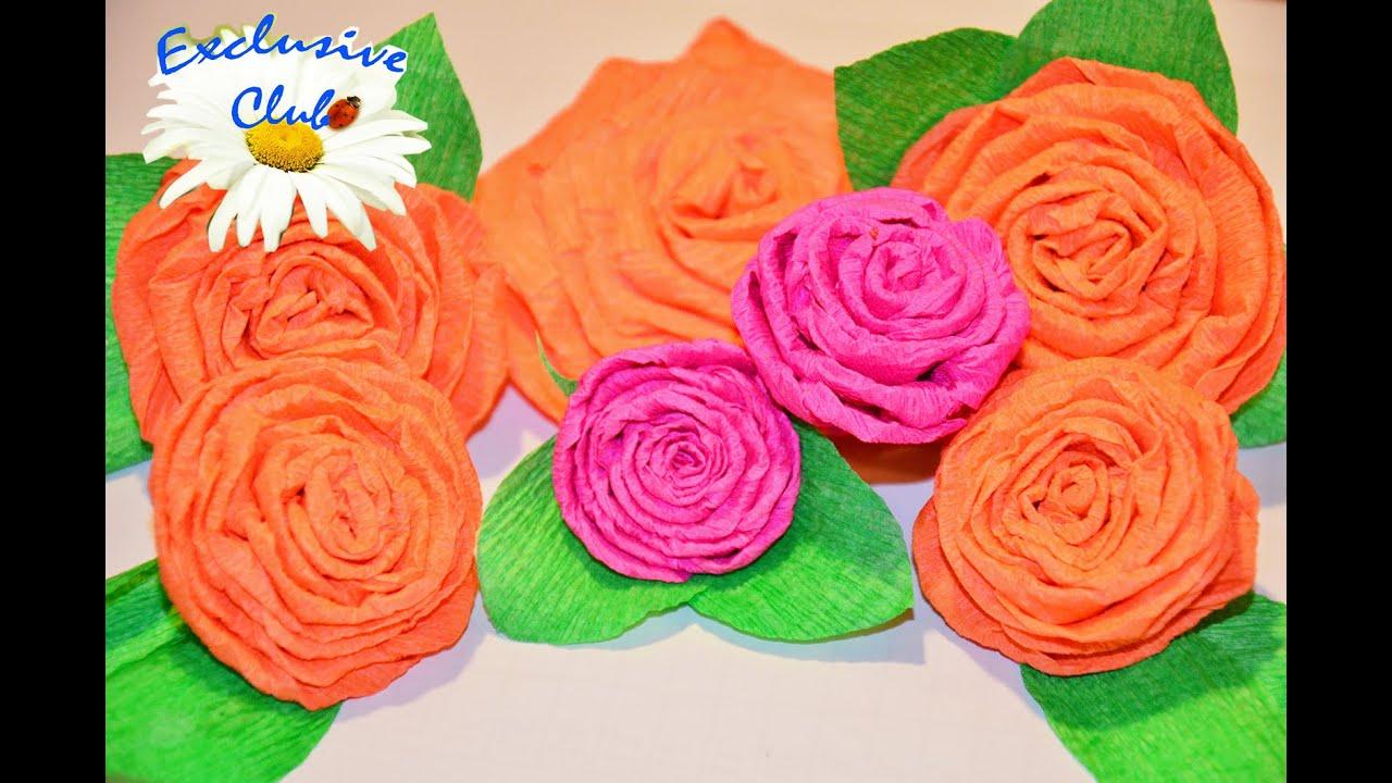 Как сделать розу из гофрированной бумаги своими руками? 92