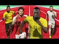 PES 2018 Speed Test (ft. USAIN BOLT) - Fastest players in PES 18
