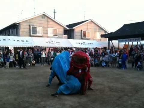 北鹿島 獅子舞
