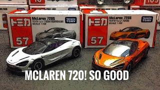Tomica No.57 McLaren 720S  ( Regular and Special Color )