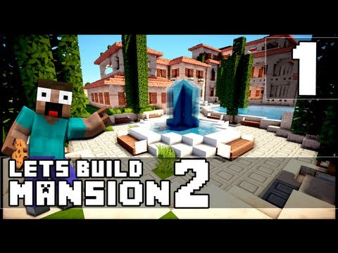 Minecraft: How To Make a Mansion Part 1