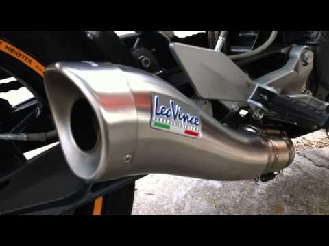 KTM Duke 200 Leovince Cobra Exhaust