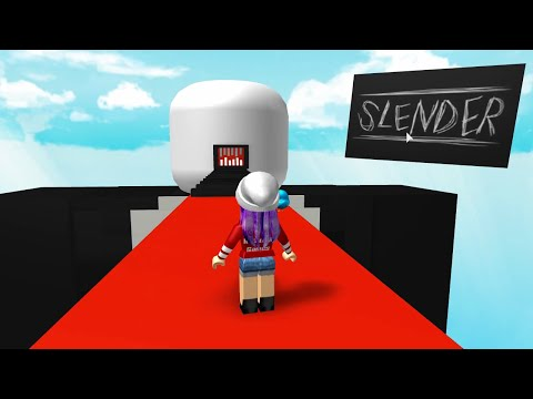 ROBLOX LET'S PLAY the SLENDERMAN OBBY | RADIOJH GAMES