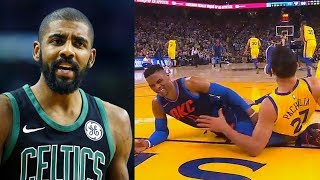 Kyrie Irving Calls Out Zaza Pachulia for trying to Injure Russell Westbrook