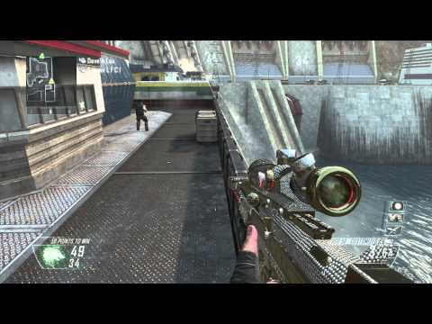 COD: Black Ops 2 l Trick Shot l doctor wedgie l HD