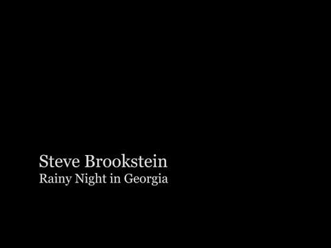 Steve Brookstein - 2004 First Winner of the X-Factor - Rainy Night In Georgia