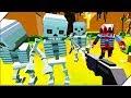 КОРОЛЬ СКЕЛЕТОВ И ЕГО СКЕЛЕТНАЯ АРМИЯ - Игра ZIC Zombies in City # 11 Игры андроид