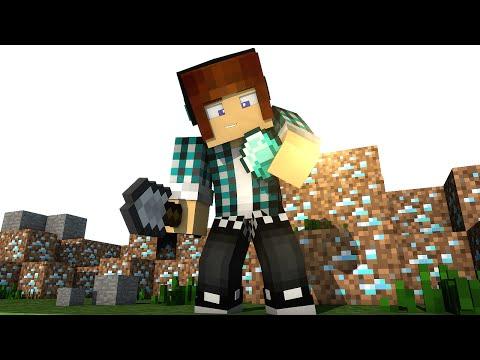 Minecraft Mod: DIAMANTE DE TERRA ( Mod Mais Facil do Minecraft) !! - Dirt To Diamonds Mod