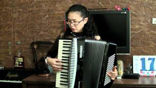 手風琴演奏 (Accordion )~Nearer My God To Thee~God Bless Japan