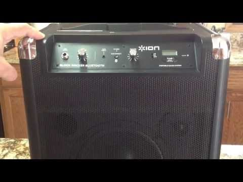 Review Ion Block Rocker Bluetooth Portable Speaker System